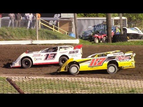 360 Late Model Heat | Genesee Speedway | 5-12-18