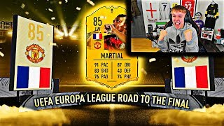 OMG I PACKED ROAD TO THE FINAL MARTIAL ON FIFA 20!!!