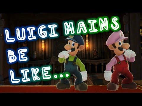Luigi Mains Be Like... Ft: Elegant & Flash (Smash Ultimate Luigi Montage)