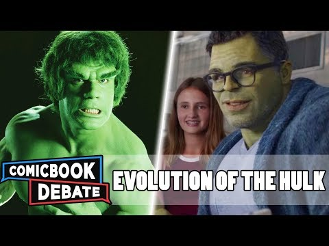 Evolution of Hulk in Movies & TV in 10 Minutes 2019