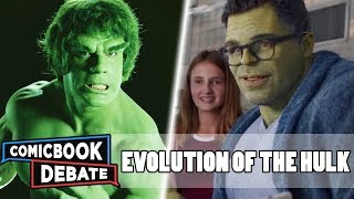 evolution of hulk in movies tv in 10 minutes 2019