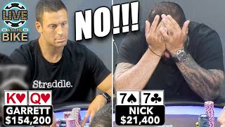 He Did WHAAAT???!!! To WHO?!?! ♠ Live at the Bike!
