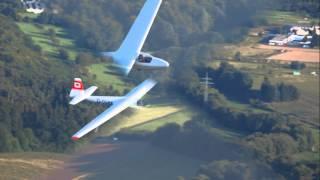Segelfliegen mit unserer Schleicher Ka 6 - Glider Flying with our Schleicher Ka6