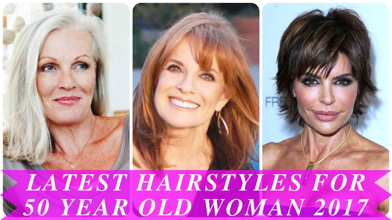 latest hairstyles for 50 year old woman 2017