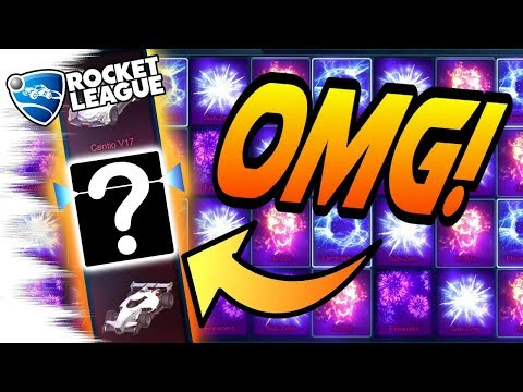 GOAL EXPLOSION & PAINTED CAR! - HUGE Rocket League Overdrive Crate Opening! (Black Market)