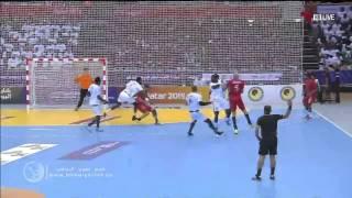 (الشوط 2) لخويا 30-33 الجيش (بطولة الأندية الآسيوية لكرة اليد)