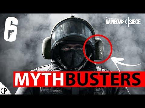 Mythbusters - Epi 6 - Rainbow Six Siege - Blitz Hitbox - R6  