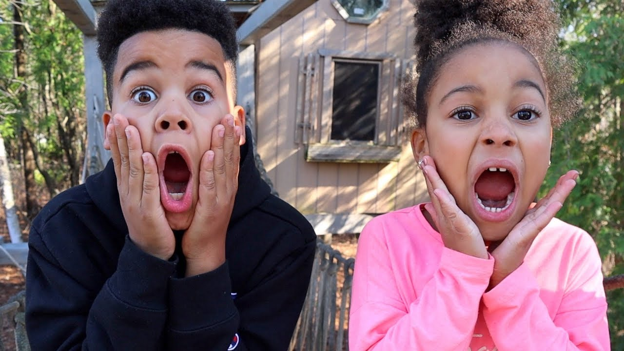 24 Hours in our Treehouse Challenge!