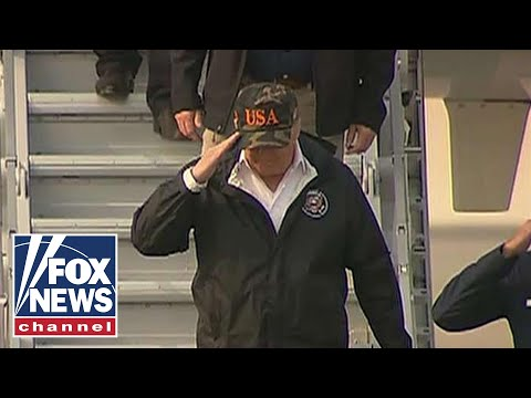 National News - President Trump Heads To California To Meet With Wildfire First Responders