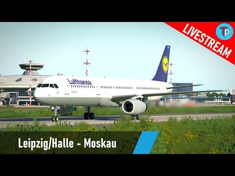 X-Plane 11 | Leipzig/Halle - Moskau (EDDP - UUWW) | Airbus A321 | Lufthansa | IVAO