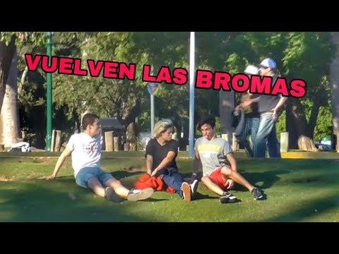 VOLVIERON LAS BROMAS EN LA CALLE FT. TOMAS ORANGES