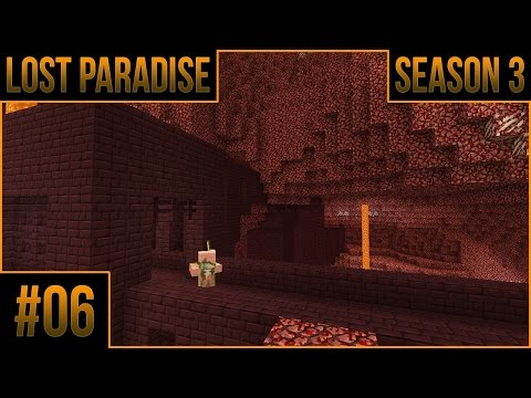 MineCraft Lost Paradise - Season 3 | Ep.6 | A Fiery Abyss! (Group) | Let's Play