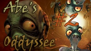 Oddworld Abe's Oddysee Ep.2 - Deadly jumps