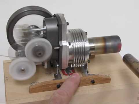 1 Bore Yoke Drive Stirling Engine Youtube