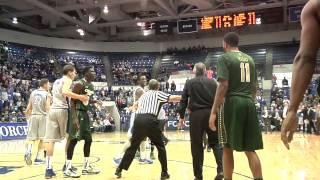 CSU vs Air Force basketball Avila fight