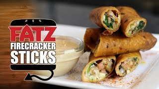 Fatz Cajun Firecracker Sticks Recipe  |  Hellthyjunkfood