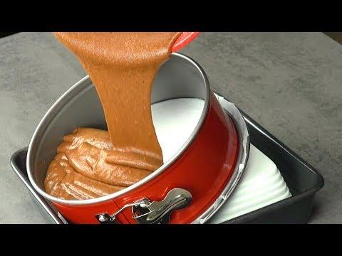 Tilt Your Cake Pan For A Delicious Reward