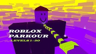 Roblox Parkour: Levels 1 - 50 (Without Noob way) | Kogama