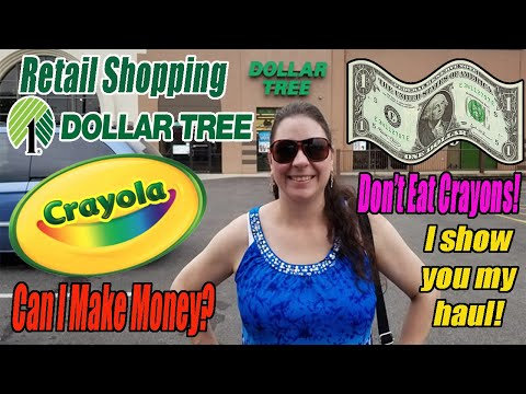 Dollar Tree Retail Shopping - Online Reselling - I Show You My Haul! - Don't Eat Crayons - Amazon