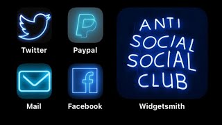 How to work Widgetsmith and customize app icons!
