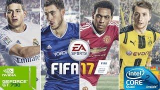 FIFA 17 on Intel Quad Core Q8400 & Nvidia GT730