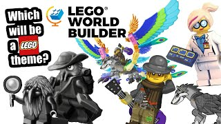 LEGO World Builder exploring! So many possible NEW LEGO themes!
