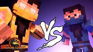 Minecraft : Subzero vs Scorpion! - VERSUS!