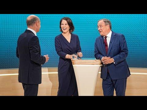 Download Reaktionen auf Triell: Jede Partei sieht sich selbst als Sieger