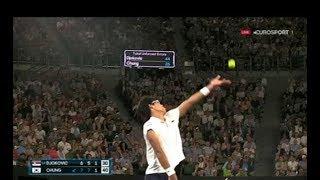 Джокович Чон - первый корейский теннисист в четверть финале