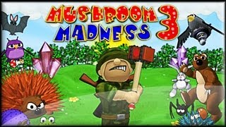 Mushroom Madness 3 - Walkthrough (1-15 lvl)