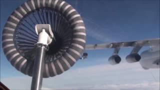 Полеты экипажей Су-24 Северного флота над Кольским полуостровом с дозаправкой самолетов в небе