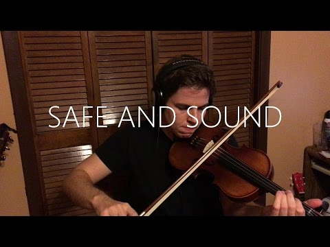 Safe and Sound - Taylor Swift -Violin Cover 6 month adult learner