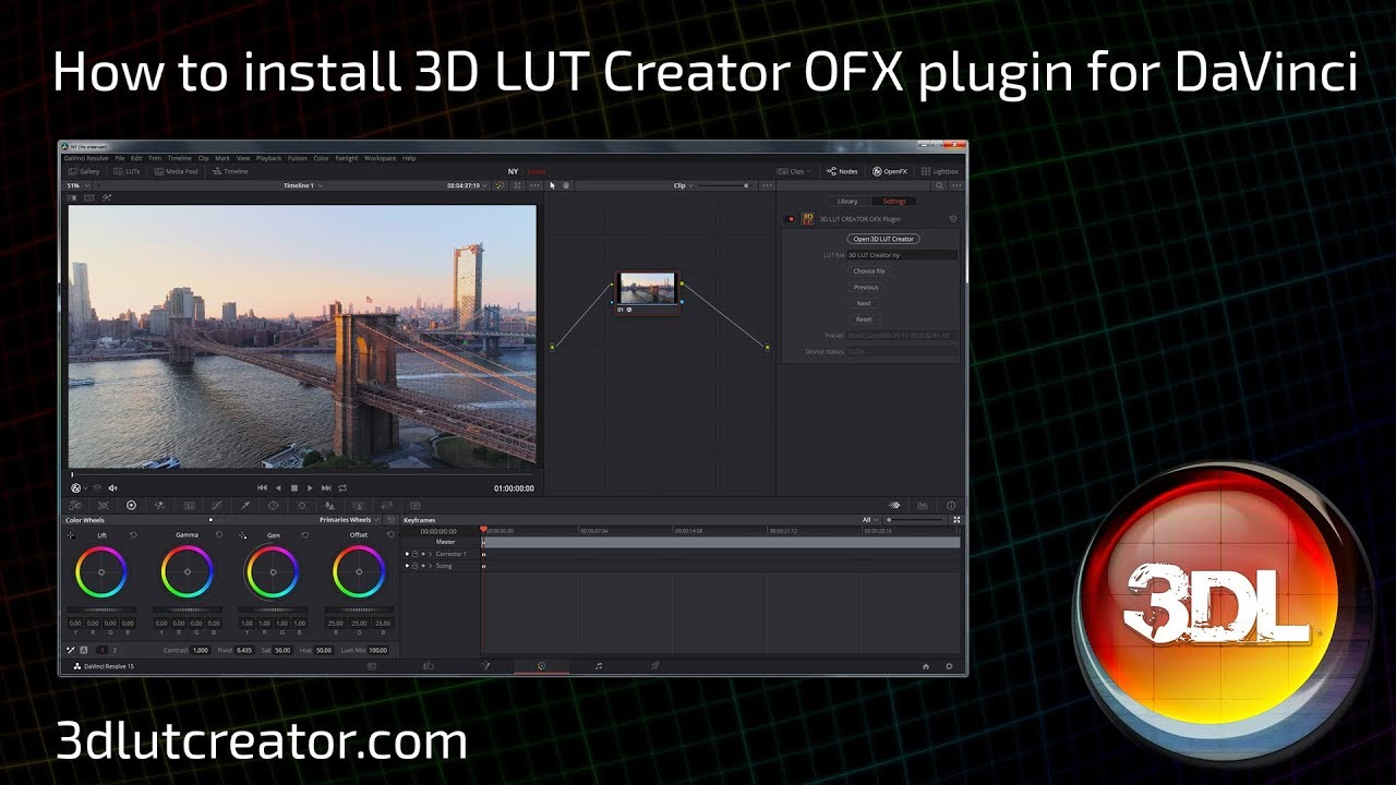 3D LUT Creator - FREE PLUGINS