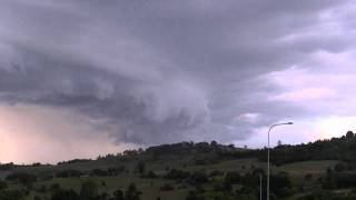 Lismore Storm - Shelf Clouds Forming