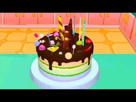 видео: ГОТОВКА ЧЕЛЛЕНДЖ #25 / ДЕНЬ РОЖДЕНЬЕ у кошки и собачки / готовим тортик в игре для детей #пурумчата