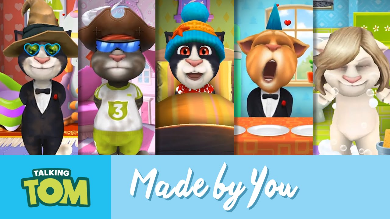 e60a736151 Videos YOU've Created - Talking Tom's User Videos 2015 Mashup - YouTube