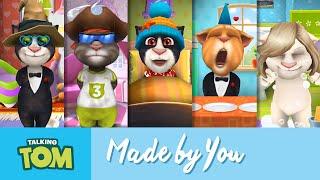 Videos YOU've Created - Talking Tom's User Videos 2015 Mashup thumbnail