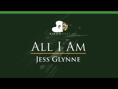 Jess Glynne - All I Am - LOWER Key (Piano Karaoke / Sing Along)