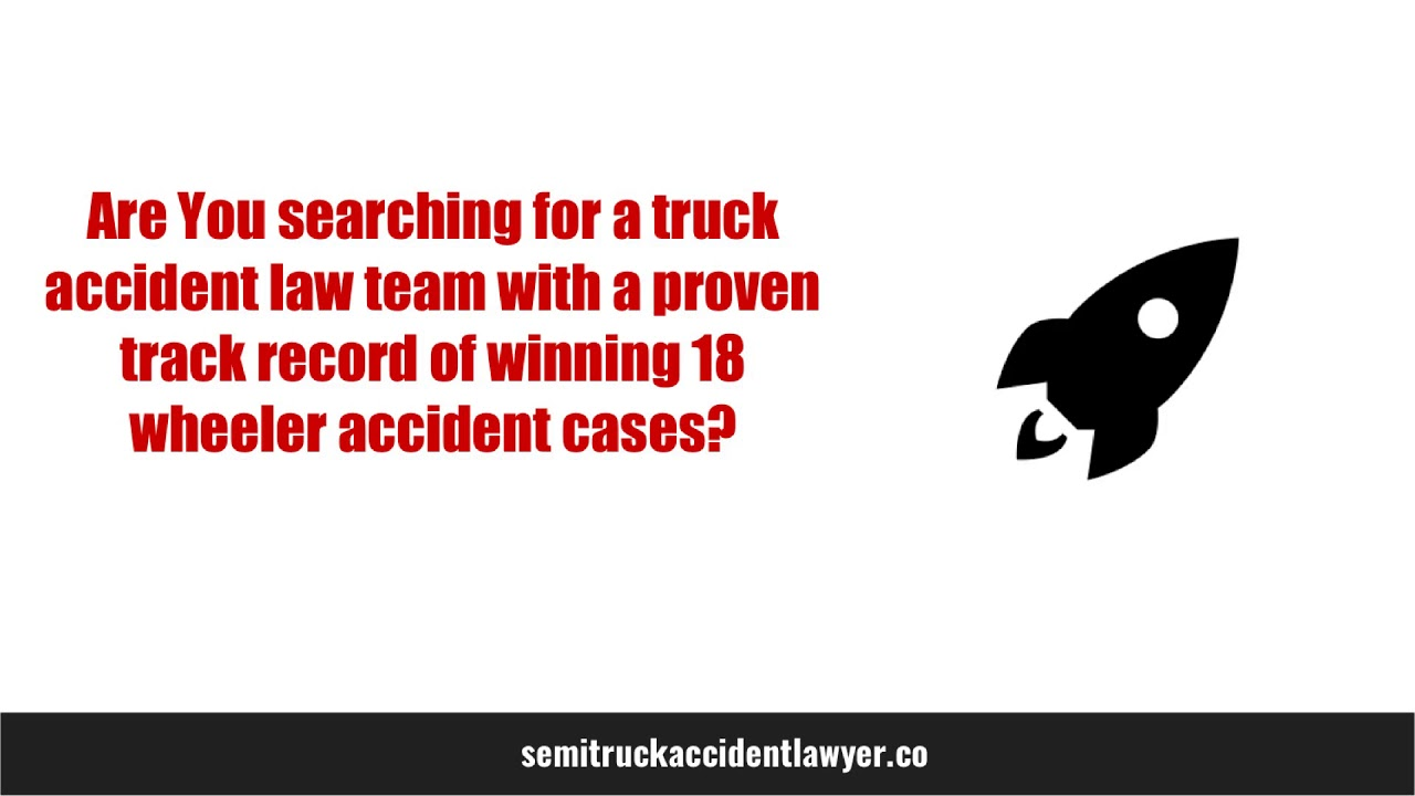 best truck accident lawyer - Truck Accident Lawyers