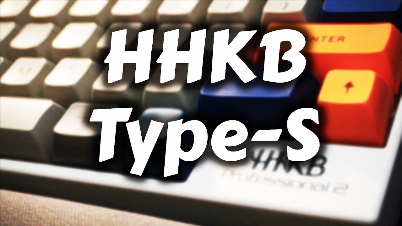 Happy Hacking Keyboard Type S My Keyboard Sa Keycaps Youtube