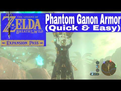 Game Ghost Warrior Breath Of The Wild Phantom Ganon Armor