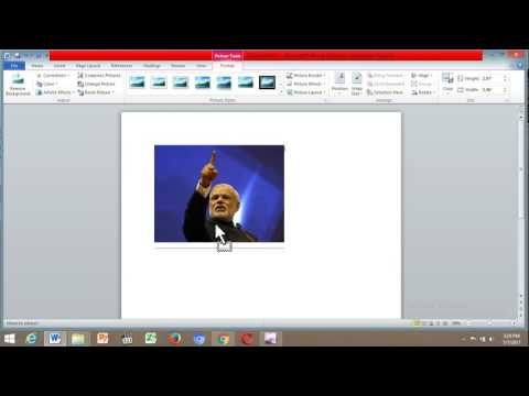 How To Move Pictures In Microsoft Word In English