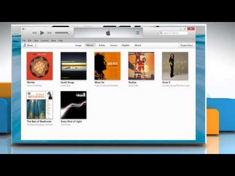 How to recover iTunes® music library  lost in a Windows® 8.1 PC