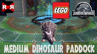 LEGO Jurassic World - Medium Dinosaur Paddock - iOS / Android - Walkthrough Gameplay