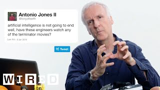 James Cameron Answers Sci-Fi Questions From Twitter | Tech Support | WIRED