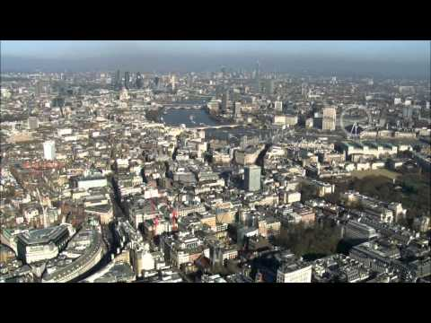 Breathtaking Aerial Footage of London (HD Version)