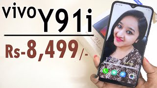 Vivo Y91i - Unboxing & Overview in HINDI(INDIAN RETAIL UNIT)