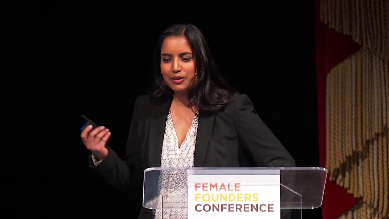 Reshma Shetty Speaks at Y Combinator's Female Founders Conference 2016