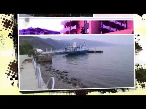 Albania Pogradec -- panoramic photos during summer