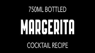 "Best Diy Bottled ""margarita"" Cocktail Recipe[no. 010]"